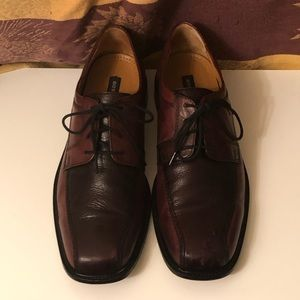 BOSTONIAN LEATHER LACE UP DRESS SHOES SIZE 11